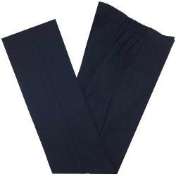 Avondale New Girls Navy/Blue Pinstripe Trousers