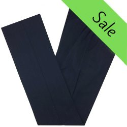 Coláiste na Mí Girls Navy/Blue Pinstripe Trousers