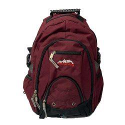 Backpack Bolton Maroon Black