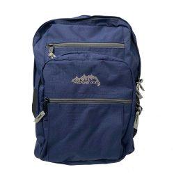 Backpack College Navy Grey