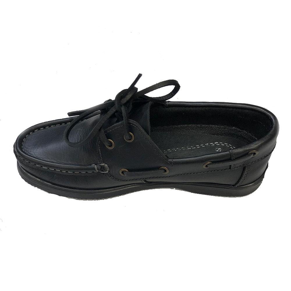 Susst Gaby Deck Shoe Black Sole